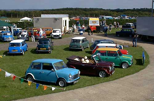 Group of Minis